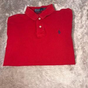 Polo Ralph Lauren Short Sleeve red Shirt